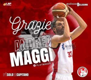 Pillole di B: Roberto Prandin firma a Omegna, Molfetta saluta il capitano Andrea Maggi
