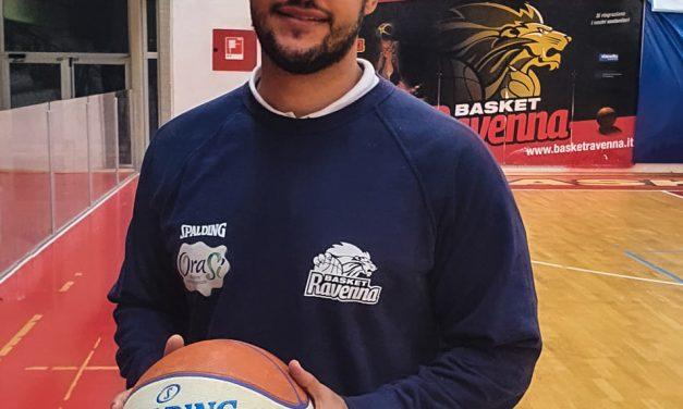 Bruno Savignani è il nuovo assistant coach dell'Orasì Basket Ravenna