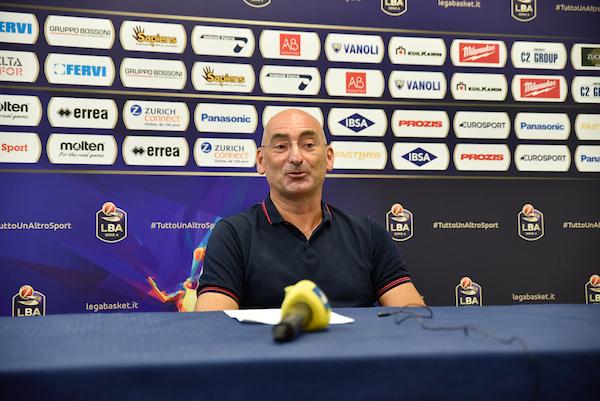 "Cremona, Portaluppi su Hommes: ""Io ho pronosticato una carriera da Euroleague per lui"""