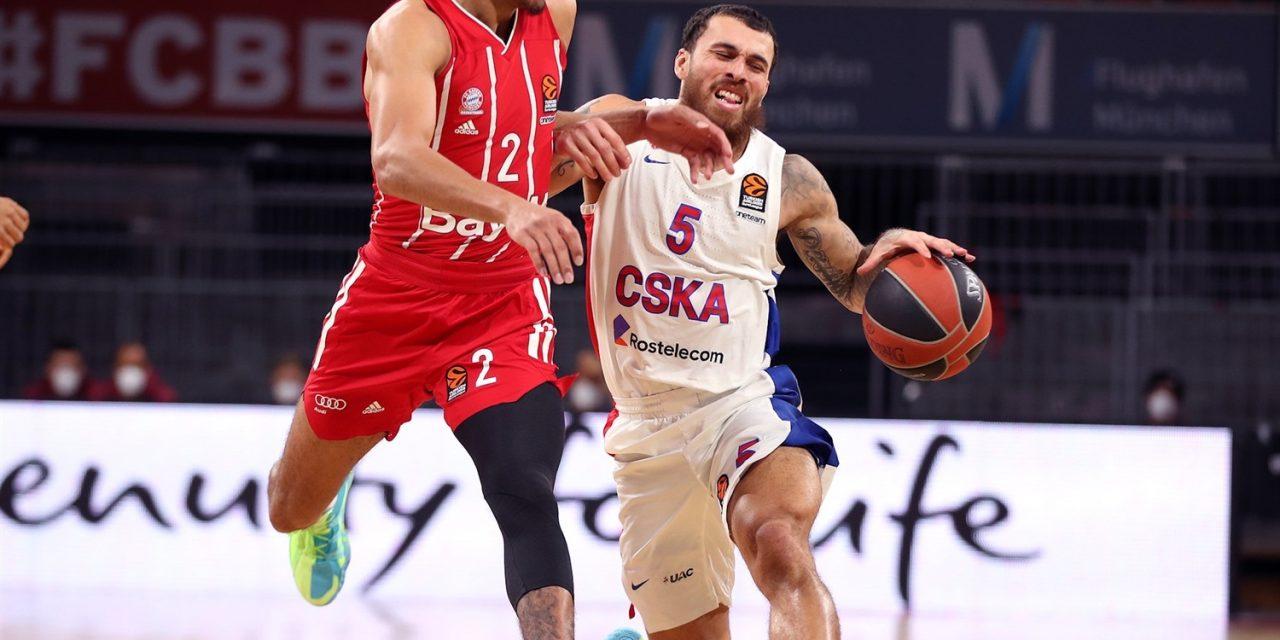 Euroleague, Mike James eletto MVP del mese di novembre