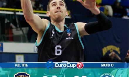 Brescia saluta l'EuroCup con una sconfitta: Boulogne-Levallois scappa nel quarto periodo