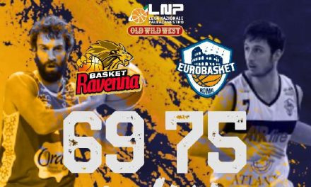 L'Eurobasket grazie ad un super Gallinat supera Ravenna 69-75