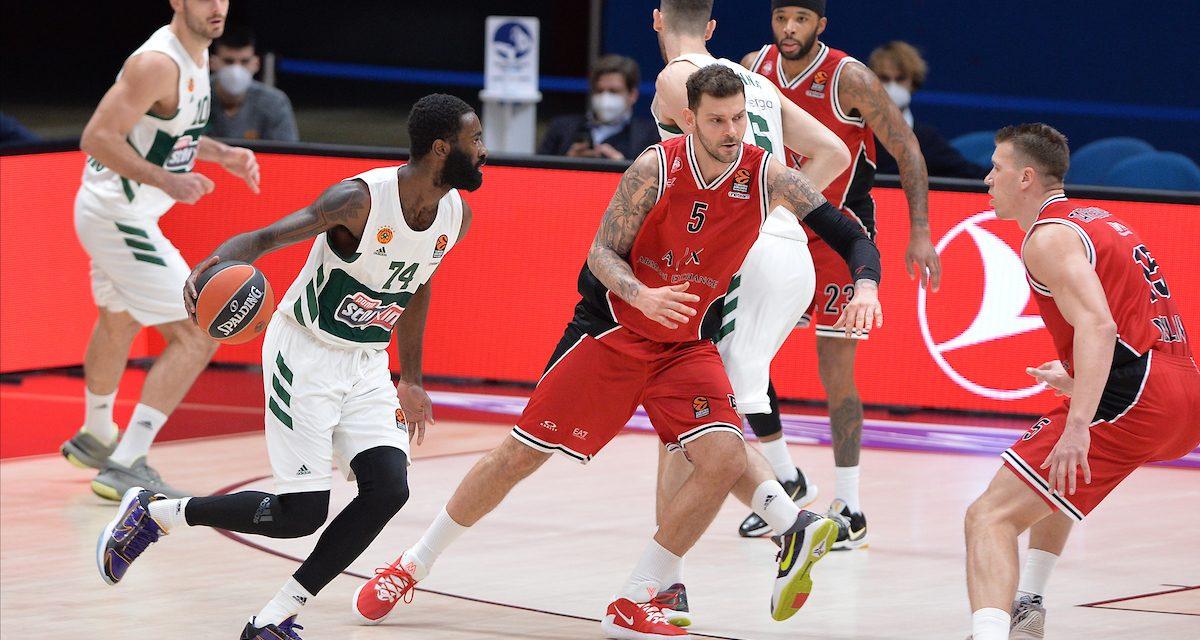 Un secondo tempo da 50 punti: Milano si annienta da sola, sorride il Panathinaikos