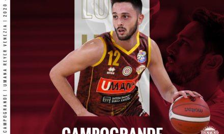 Ufficiale, Luca Campogrande è un nuovo giocatore della Reyer Venezia
