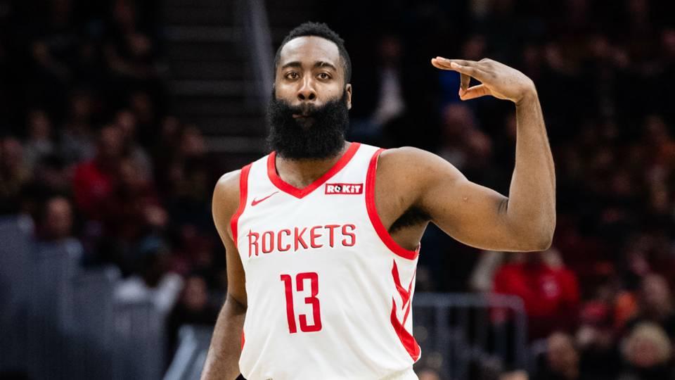 Il barba ai titoli di coda con i Rockets