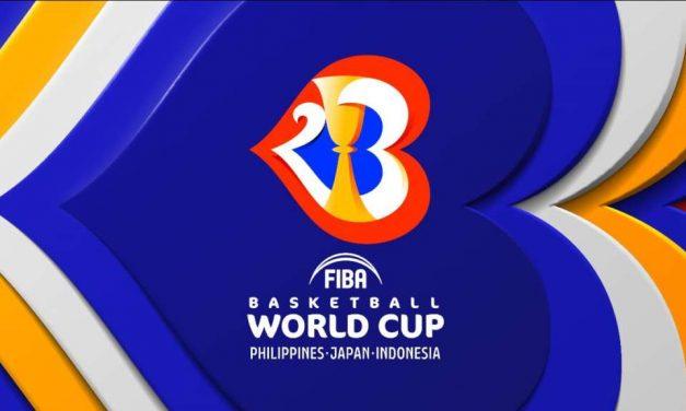 Svelato il logo della FIBA World Cup 2023
