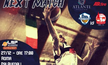 L'Eurobasket Roma alla prova del nove: al PalAvenali arriva Forlì
