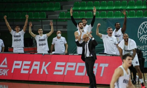 Brindisi passa in rimonta in Turchia contro il Darussafaka e accede alla seconda fase della BCL