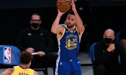 Gli Warriors superano in volata i campioni NBA: Curry batte LeBron