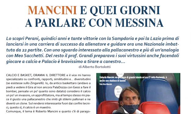 Roberto Mancini: le chiacchiere con Messina e le analogie con Sacchetti