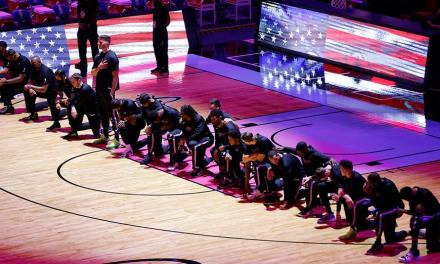 Miami-Boston: i Celtics sono i primi a protestare contro l'assalto al Campidoglio di Washington