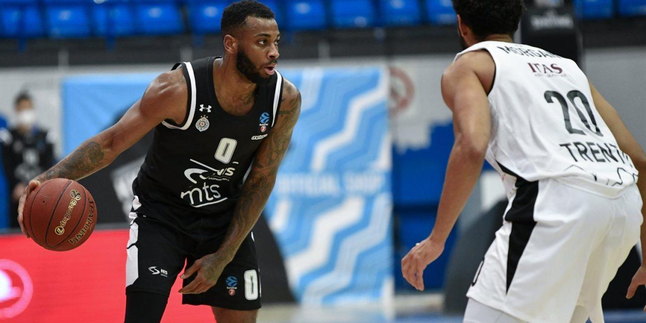 Trento lotta, ma il Partizan è superiore: finisce 71-43 a Belgrado