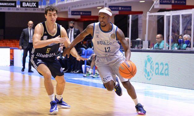 Brindisi-Burgos: sconfitta e paura per le condizioni di D'Angelo Harrison