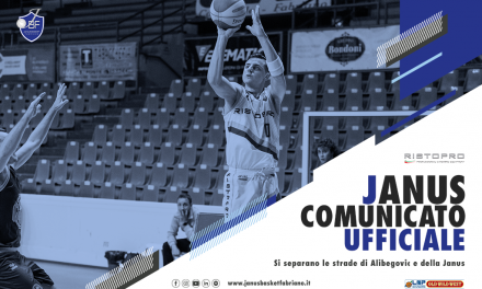 Denis Alibegovic lascia la Janus Fabriano