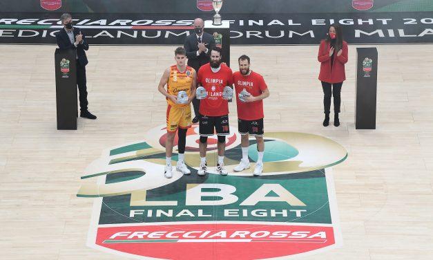 I premi della Final Eight 2021: Datome MVP e miglior tiratore da tre, Rodriguez miglior assistman e Drell miglior giocatore offensivo