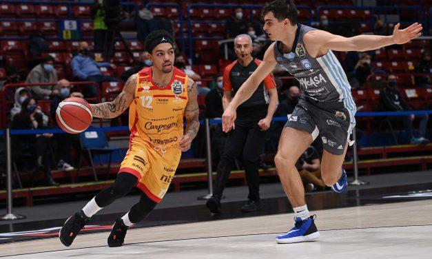 Pesaro, Justin Robinson sale al quinto posto tra i migliori marcatori della squadra alle Final Eight