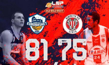 Gallinat ed Olasewere trascinano l'Eurobasket Roma alla vittoria, battuta Cento 81-75