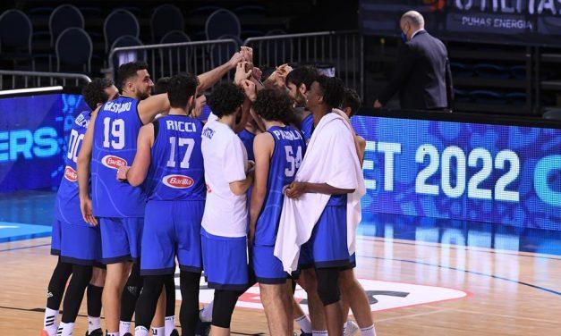 Piero Bucchi, Paolo Galbiati e Riccardo Fois nello staff azzurro, affiancheranno Lele Molin e Meo Sacchetti