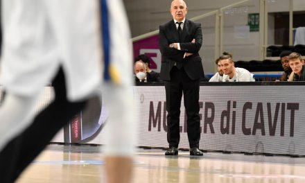 """Trento-Milano: Molin: """"Vittoria importante che ci dà morale e fiducia"""". Messina: """"Non avevamo energie fisiche e mentali"""""""