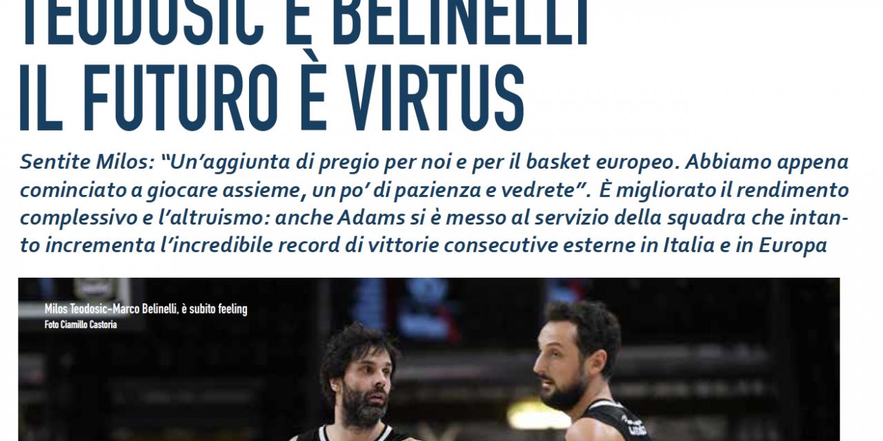 Virtus: con Belinelli e Teodosic il futuro è qui