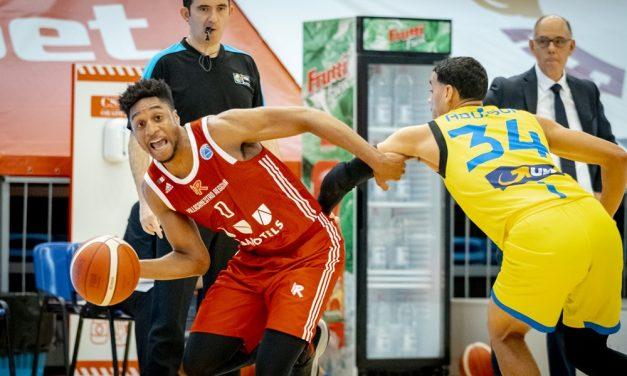 Reggio Emilia soffre, ma sconfigge il Sibiu 61-65 e vola ai quarti di finale della FIBA Europe Cup