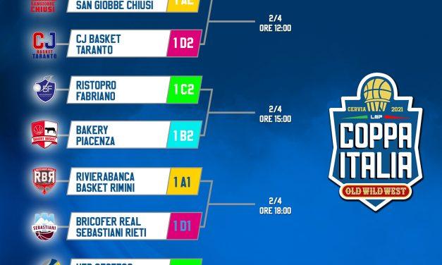 Final Eight Coppa Italia di B: le sedi, il calendario e gli orari