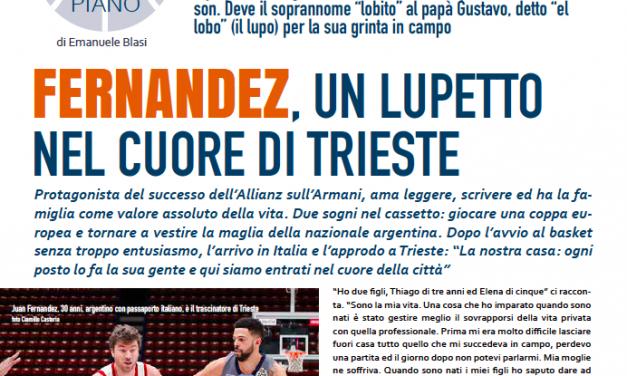 """Juan Fernandez, anima, testa e cuore dell'Allianz Trieste: la storia del """"lobito"""""""