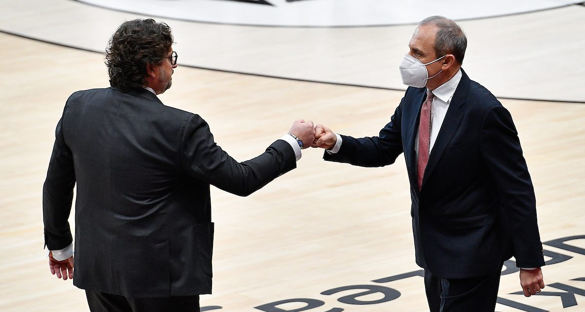 Euroleague euro emoticon: Trinchieri sulla strada di Messina per il titolo europeo