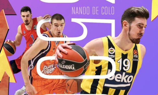 Nando De Colo supera quota 3.500 punti in Euroleague