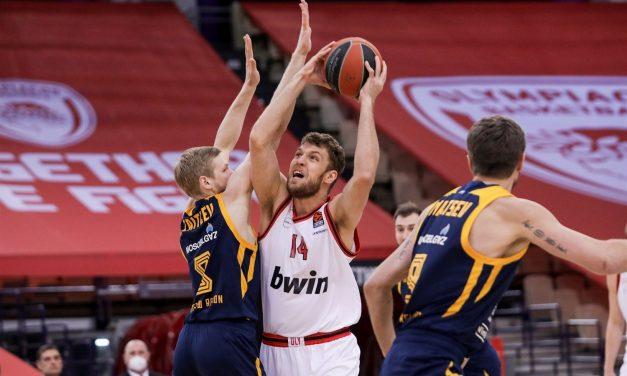 Sasha Vezenkov nominato MVP della settimana di Euroleague