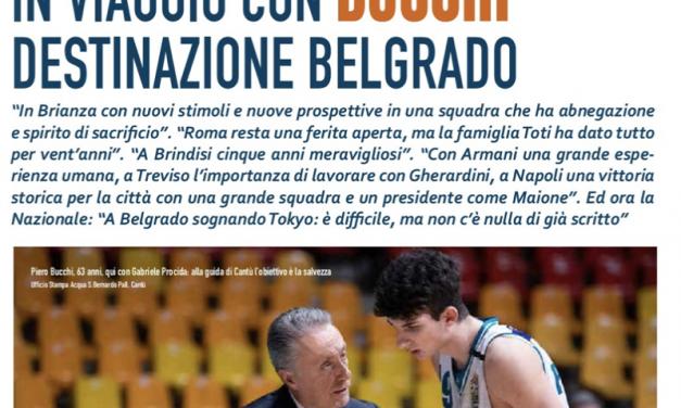 Piero Bucchi in viaggio: destinazione Belgrado