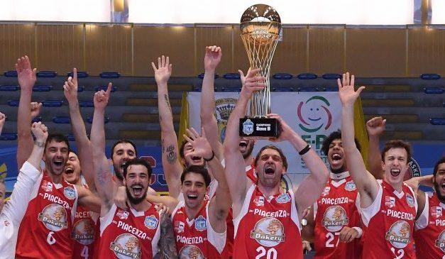 La Bakery Piacenza vince la Coppa Italia Old Wild West di Serie B, superata in finale la Real Sebastiani Rieti