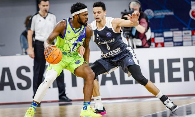 Sassari esce dalla Basketball Champions League: sconfitta anche con il Bamberg