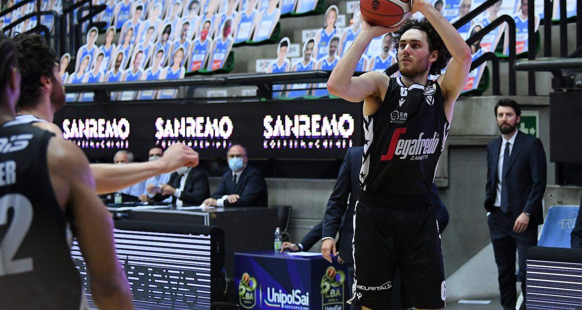 Virtus Bologna, contro Treviso record societario di triple nei playoff (17)