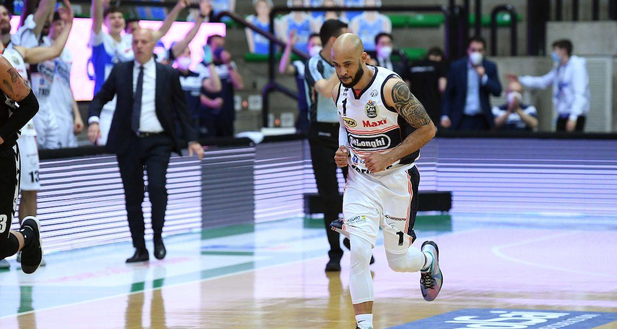 Treviso, Logan diventa il giocatore più anziano a segnare almeno 25 punti in una partita nella storia dei  playoff