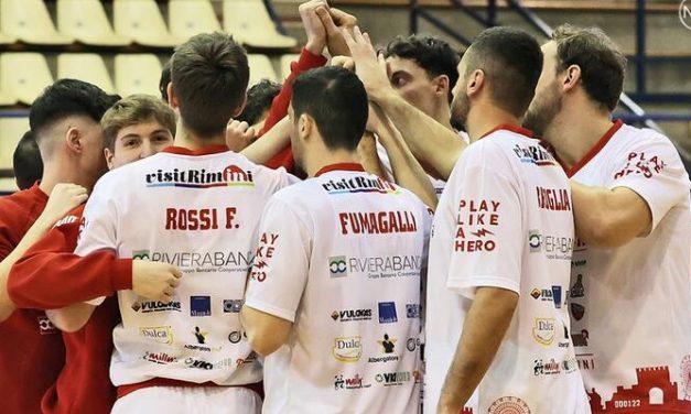 Rimini, le positività al Covid sono troppe: stagione finita per RBR e Bakery Piacenza in finale