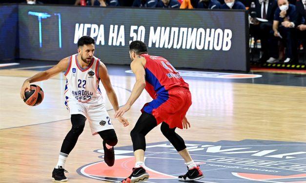 F4 EuroLeague, pazzo epilogo della prima semifinale: l'Efes domina il primo tempo, poi crolla ma vola in finale. CSKA battuto