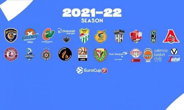 EuroCup 2021-22: le 22 squadre