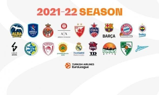 EuroLeague 2021-22: le 18 squadre