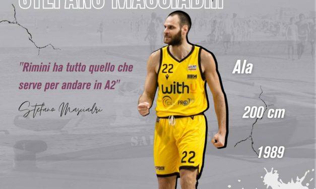 Rinascita Basket Rimini, ufficiale il colpo Stefano Masciadri