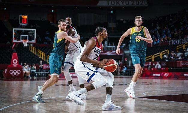 Gli Stati Uniti scappano nel terzo quarto e sono la prima finalista: Australia battuta 97-78