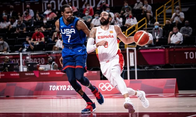 Stati Uniti-Spagna che spettacolo: Durant e Rubio strepitosi, ma Team USA va in semifinale