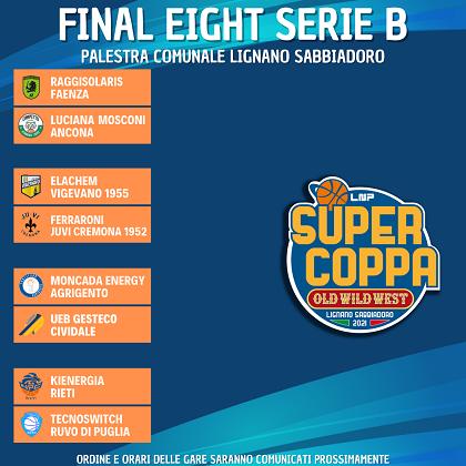 Supercoppa di B: i risultati del terzo turno e gli accoppiamenti delle Final Eight